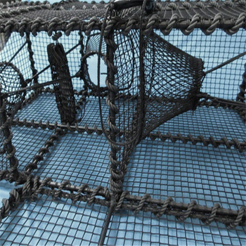 fishing trap knotless fishing nets for crab/shrimp