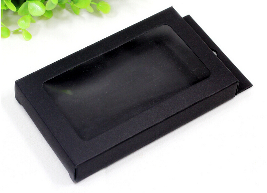 14.5*9*2 cm / 5.7''*3.5''*0.8'' Black Phone Case Package boxes