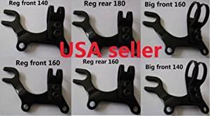 Bike Disc brake bracket frame adaptor bicycle REG / BIG / XL 3 sizes for 140mm /160mm /180mm disc brake rotor
