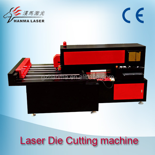 HM-H15 300 W 450 W 18-22 mm Plywood/MDF/Wood CNC CO2 Laser Non-metal Die Cutting Machine for advertising,packaging,printing