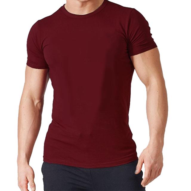 अनुकूलित उच्च गुणवत्ता आरामदायक 100% कपास टी शर्ट कस्टम थोक पुरुषों कार्बनिक कपास टी शर्ट