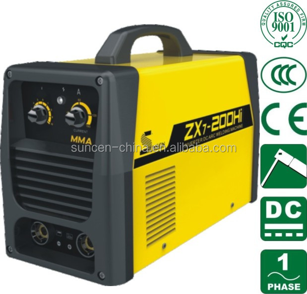 Portable MMA ARC Welding Machine Stick Welder IGBT DC Inverter 10-200AMP ZX7-200