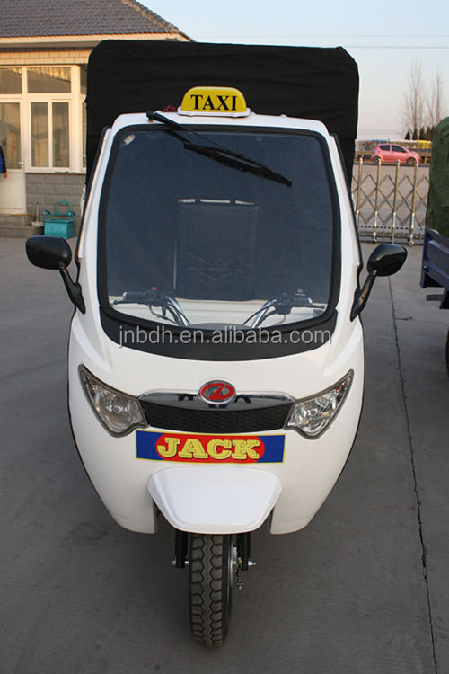 half close cabin three wheel motorcycle, 200 or 150cc water cooled engine,large cargo box