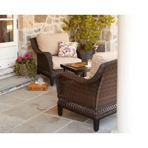 Get Quotations Patio Furniture Outdoor Lawn Garden Hampton Bay Woodbury With Textured Sand Cushions