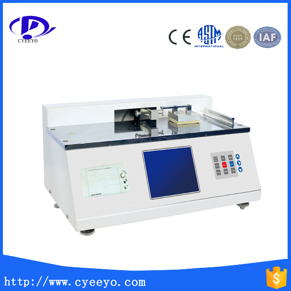 Polyester and film cof tester for testing static and dynamic friction coefficient