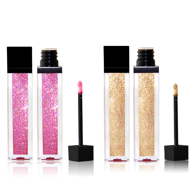 Custom Glitter Lip Gloss Private Label 11 Colori Lipgloss