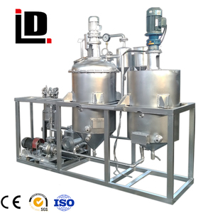 automatic vegetable oil refinery mill(5t/d)