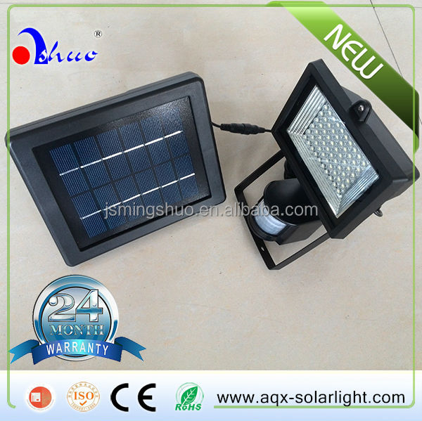 Solar Powered Motion Activated Detector Sensor 60 LED Solar Security Garden Light