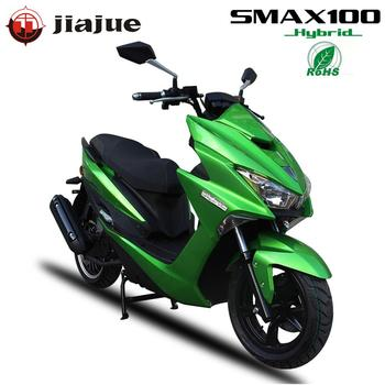 Jiajue 2019 New Developed 100cc Fuel and Electric Hybrid  Scooter