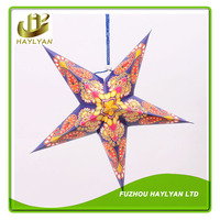 Modern paper star lantern for party or home decoration