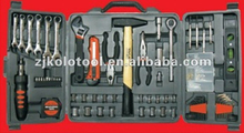 135 pcs high quality basic household tool set with wrench sockets