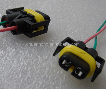 H10 H12 9005 9006 Hb3 Wire Connector Light Lamp Bulb Plug Harness H Headlight Wire Harness on
