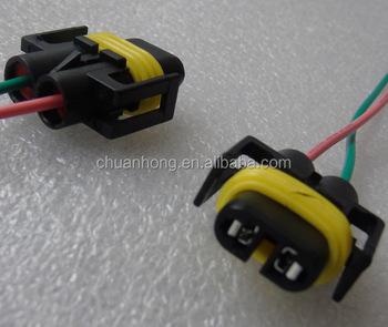 H10 H12 9005 9006 Hb3 Female Wire Connector Light Lamp Bulb Plug Harness  Socket - Buy H10 H12 9005 9006 Hb3 Connector,Light Bulb Socket,Headlight