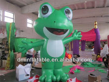 Green inflatable frog YP-17