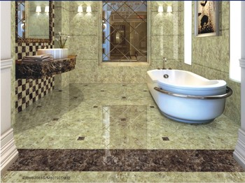 Light Brown Marble Polished Non Slip Bathroom Floor Tiles Buy Non Slip Bath