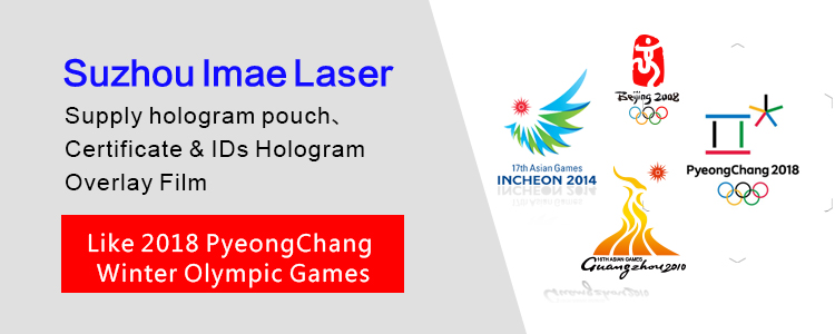 Custom Laminate Hologram Pouches for Major Sports Events