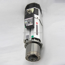 8KW tool change air cooled spindle motor for cnc router machine