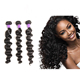 Unprocessed 100 virgin brazilian human hair, loose deep wave hair