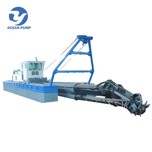 Hot Sale Cutter Suction River Sand Dredging Machine with Low Price