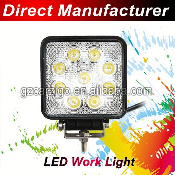 Hardtop accessories delivery truck loader vehicle van 27led work light