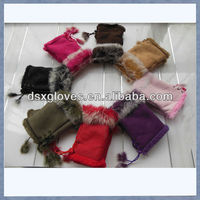 fingerless gloves with fur