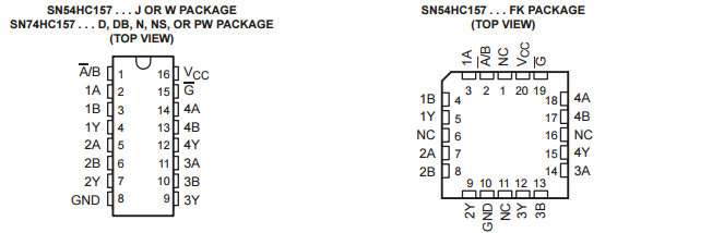 Original New SN74HC157PWR IC SELECTOR/MUX QUAD 2-1 16TSSOP Logic - Signal Switches, Multiplexers, Decoders