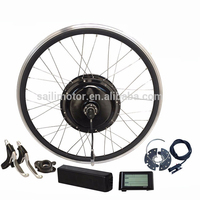 250w to 1500w electric bike conversion kit with battery