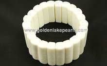 White Coral Rectangle Bracelet Fashion Bracelets(SL34242)