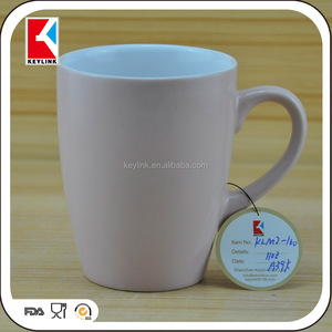 High Quality Cheap Price Tabelware Stoneware Plain White Coffee Mug For Printing Ceramic Wholesale