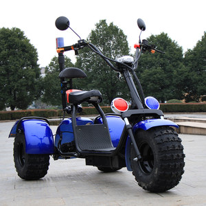 2017 new manufacture three wheels big tire trike atv adult tricycle 3 wheel electric scooter