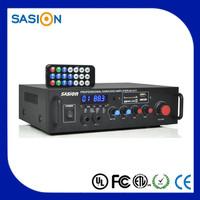 4 channel karaoke theater mini mixer high power car amplifier