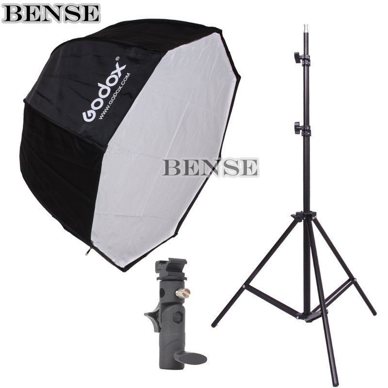 Godox Umbrella Softbox Price In Pakistan: Godox 80cm Octagon Umbrella Softbox Light Stand Umbrella