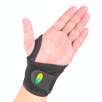 Adjustable Neoprene Wrist Brace protector Fitted Right / Left Thumb Stabilizer Wrist Wraps