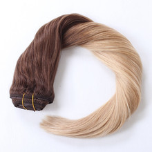 2018 Hotsale!!! Clip in hair extension Remy hair factory wholesale