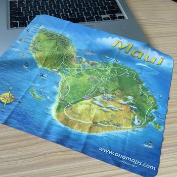 cloth map printing