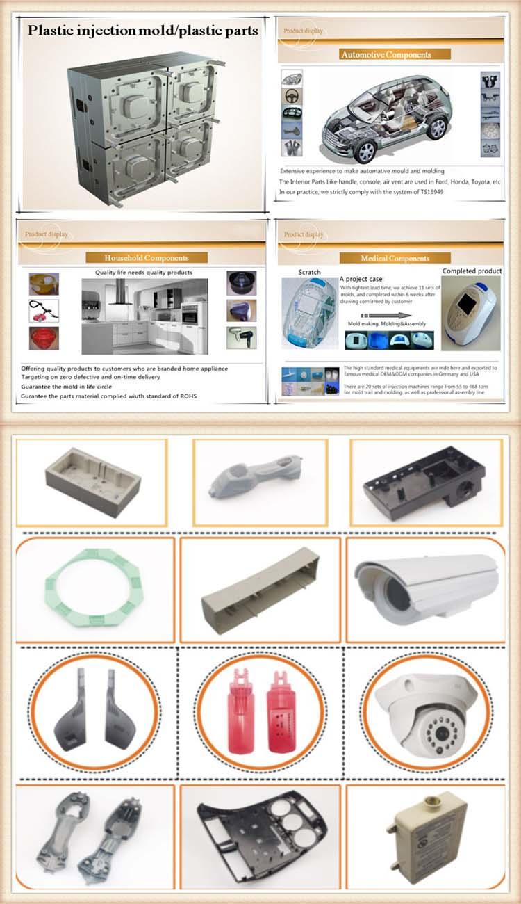 Miroir de polissage en plastique injection moule moule personnalisé produits de moulage