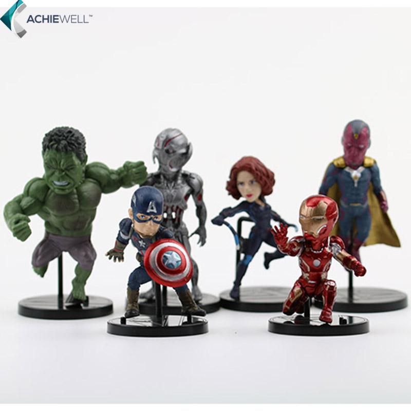 Marvel Avengers 2 Age of Ultron Hulk Black Widow Vision ...