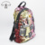 fashion sequins back pack vegan leather casual backpack bags for women