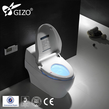 Good water tank smart toilet unit digital toilet modern bidet