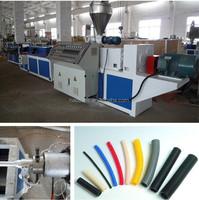 PE PVC single/double wall corrugated pipe machine