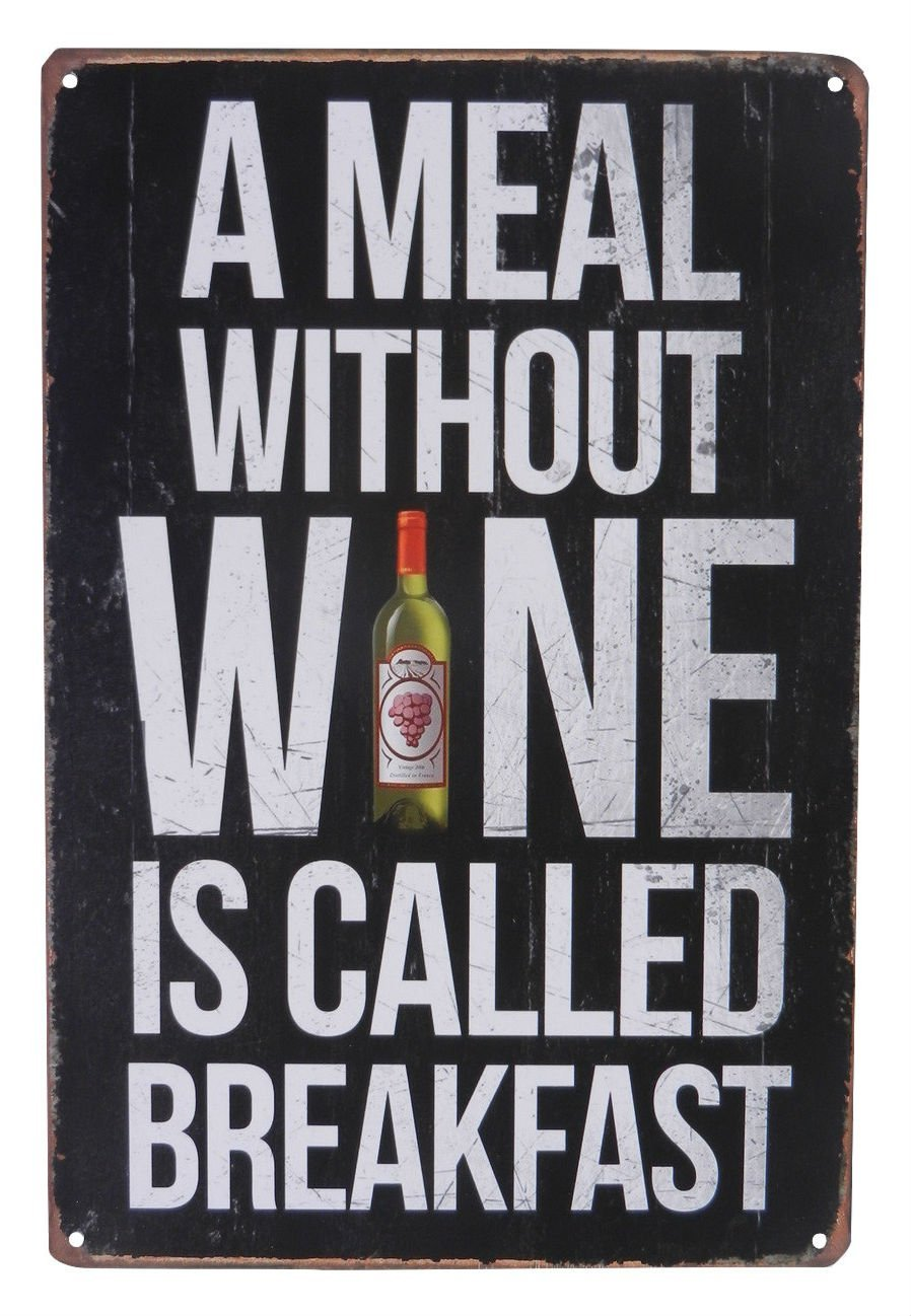 Wine Drinking Funny Alcohol Drinking Tin Sign Bar Pub Diner Cafe Home Wall Decor Home Decor Art Poster Retro Vintage