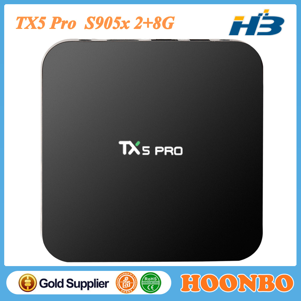 TX5 Pro S905X <strong>Android</strong> 6.0 Latest Kodi16.1 Quad Core 2GB <strong>16GB</strong> <strong>TV</strong> <strong>Box</strong>