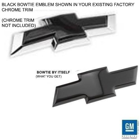 Cheap Black Chevrolet Bowtie Emblem Find Black Chevrolet Bowtie