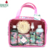 Hotel use trends 5pcs hand bag travel kit ladies bath spa gift sets
