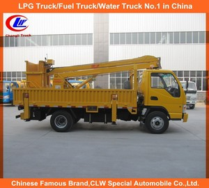 JAC 4*2 High Altitude Operation Truck 8M JAC Aerial Platform Truck 12m JAC 4*2 aerial lift truck