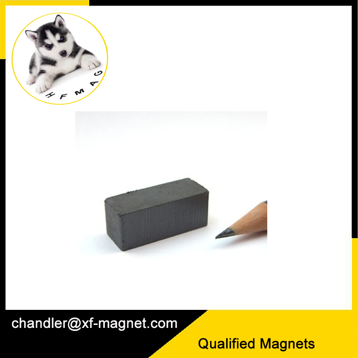 strong rare earth block Y30 ferrite permanent magnet for hot sale