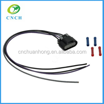 fuel pump wiring harness with oval connector 4 wire pigtail for gm car  pickup