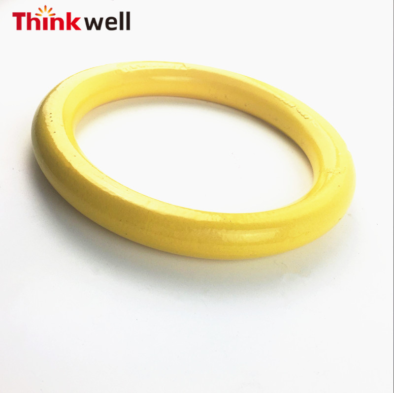 Thinkwell Forged G80 Master Link Yellow Coated Weldless Ring
