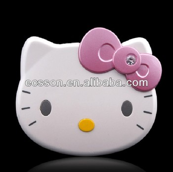 mobile phone hello kitty power bank 3500mah