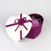 Small Wholesale Mini Love Heart Shaped Chocolate Packaging Gift Boxes
